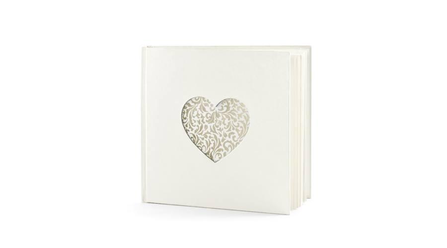vendégkönyv szív568